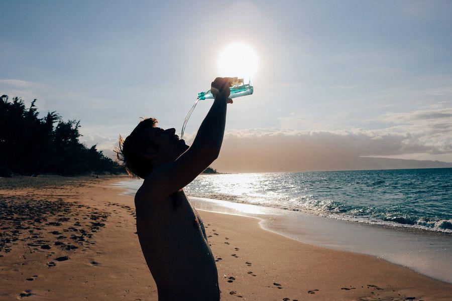 Wakacyjna dieta woda